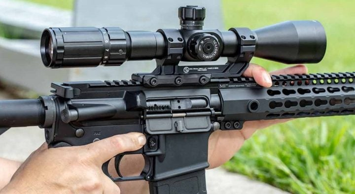 how to mount a rifle scope