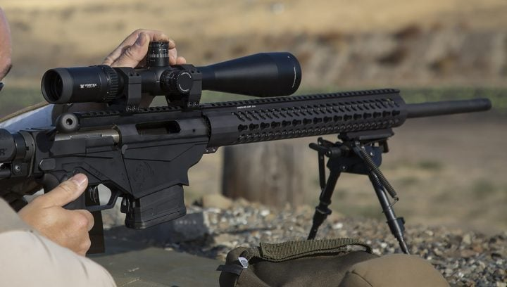 adjusting a scope