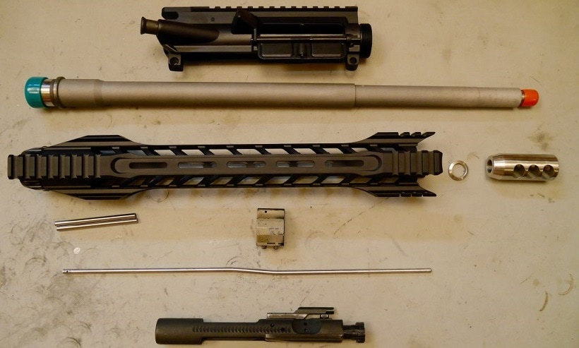 How to Assemble an AR-15 Upper Receiver