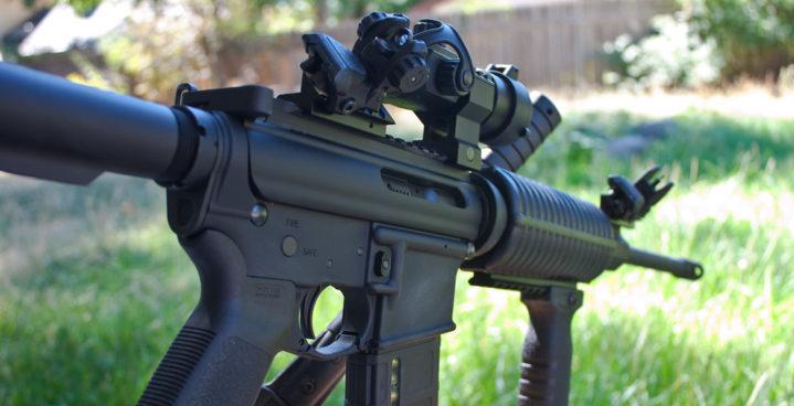 best ar 15 iron sights