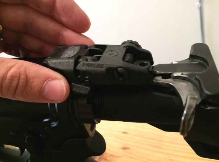 best iron sights for ar 15