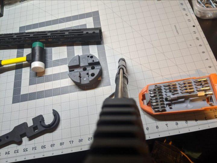 building an ar 15 upper