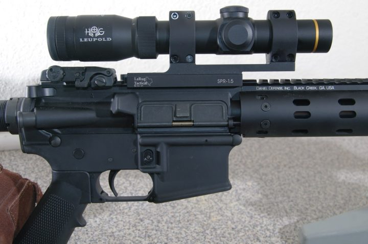 ar15 with scope mount