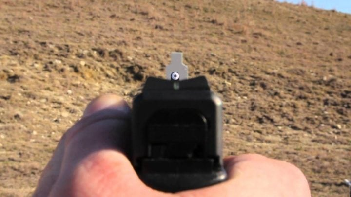 night sights for m&p shield