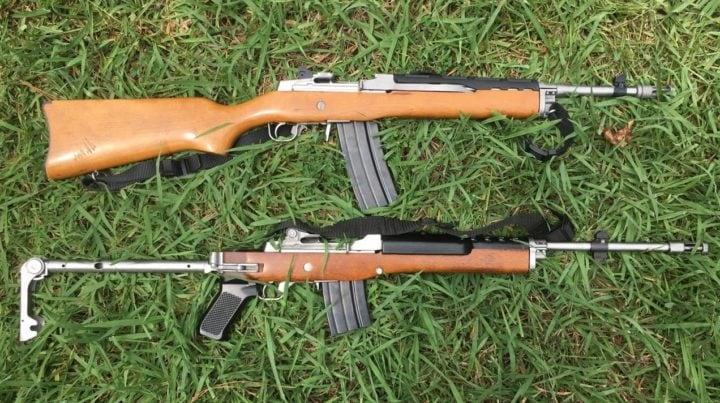 ruger mini 14 scope