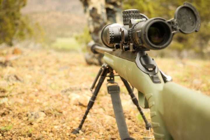 scope magnification for 100 yards