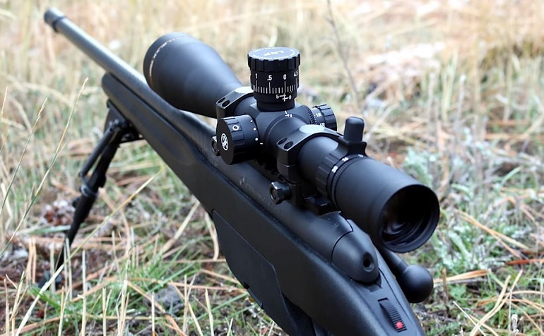 scope magnification for 500 yards