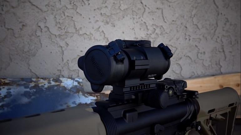 aimpoint patrol rifle optic review