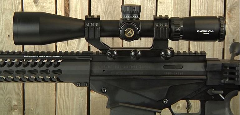 Athlon Optics Ares BTR 2.5-15x50 Riflescopes