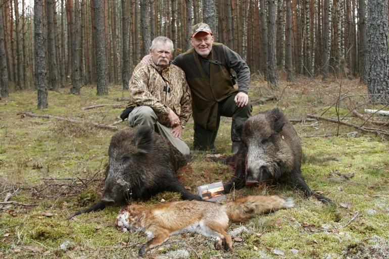 Author Hog Hunting