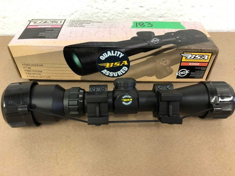best scope for ruger gunsite scout