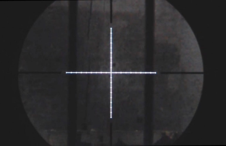 Illuminated Reticle