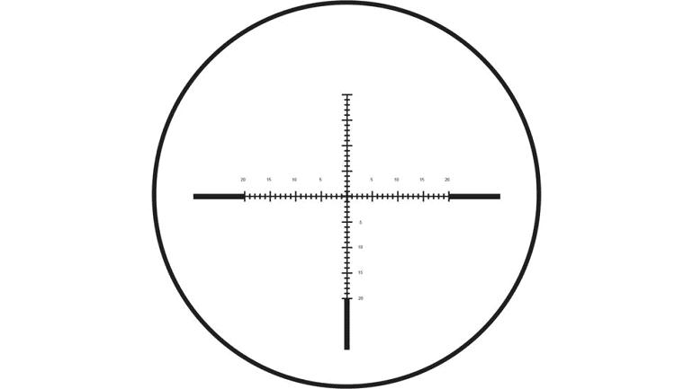 Burris Long Range MOA Reticle