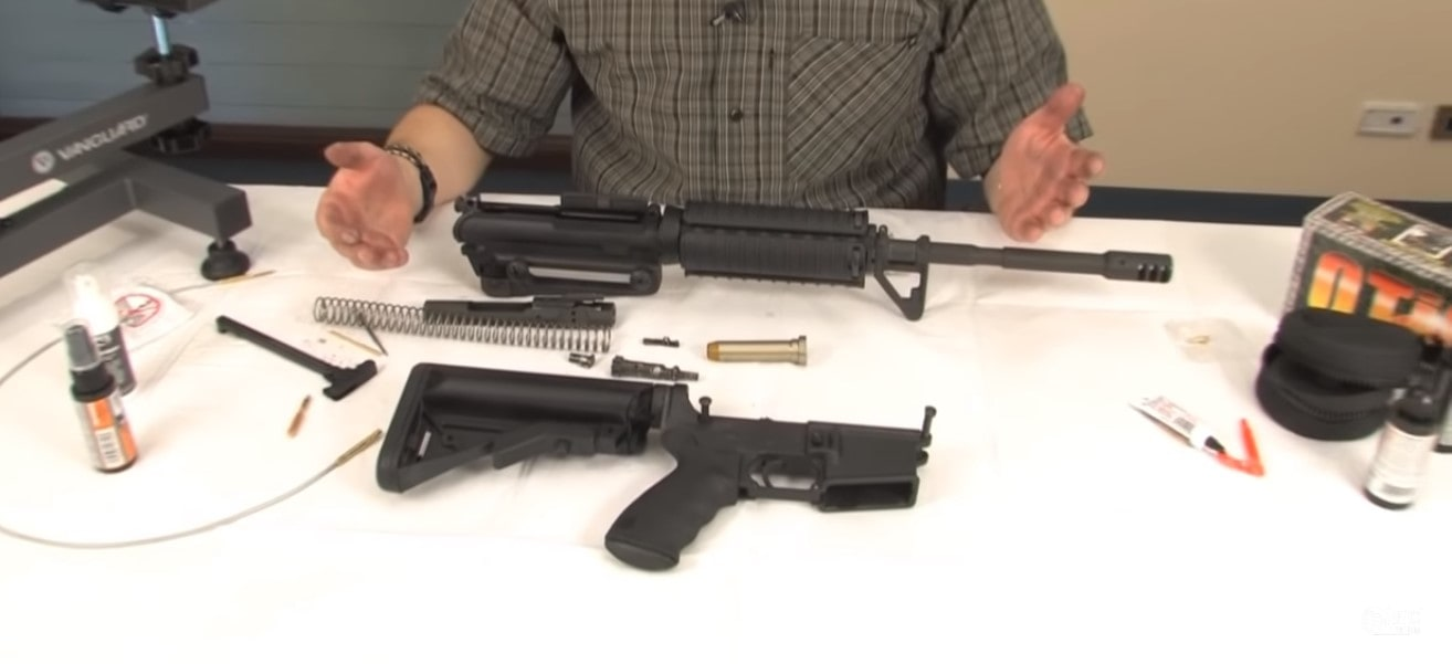 ar 15 disassembly and cleaning