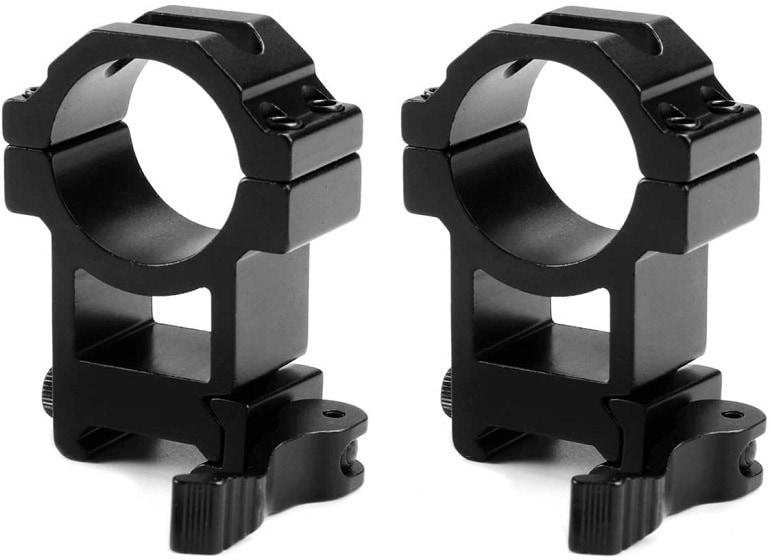 quick detach scope mounts
