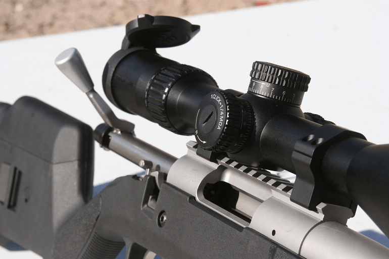 how do rifle scopes work