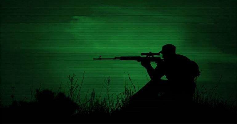 gun mounted predator hunting lights