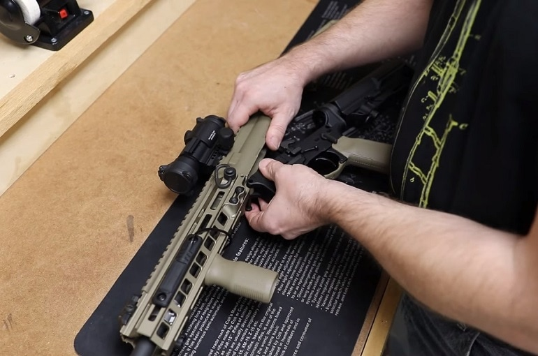 ar15 cleaning