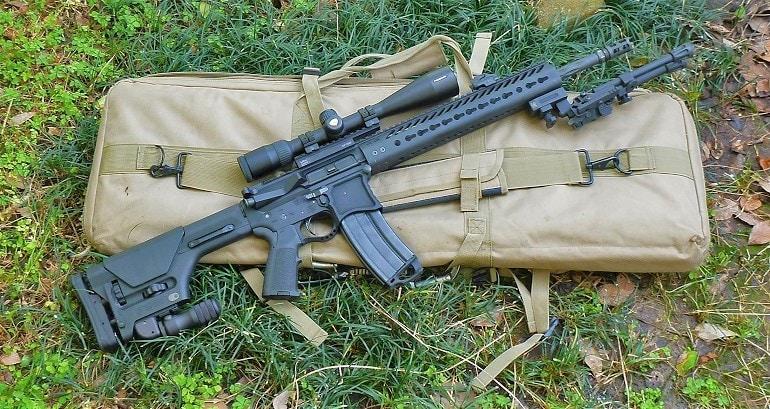 6.8 spc caliber rifles scope