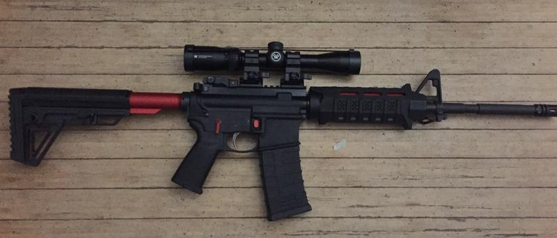 smith and wesson m&p 15 22 scope