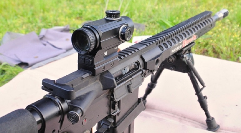 smith and wesson m&p 15 scope