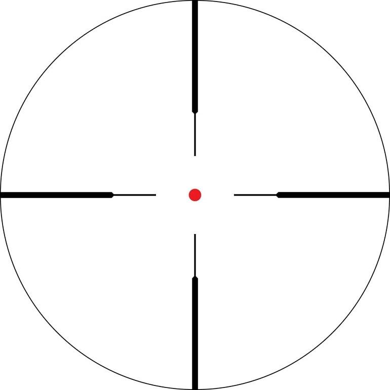 Vortex Crossfire II 1-4 x 24mm reticle