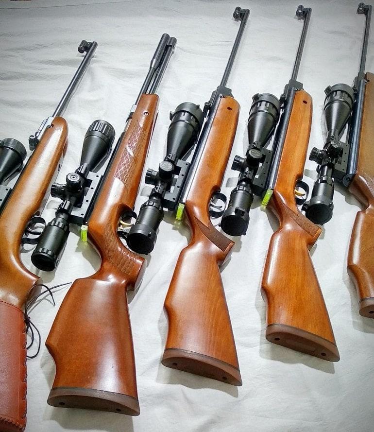 best air rifle scope under 100