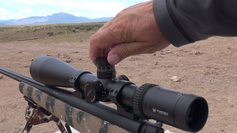 how to shoot through a scope