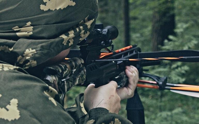 illuminated crossbow scope