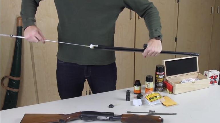 how to clean a shotgun barrel