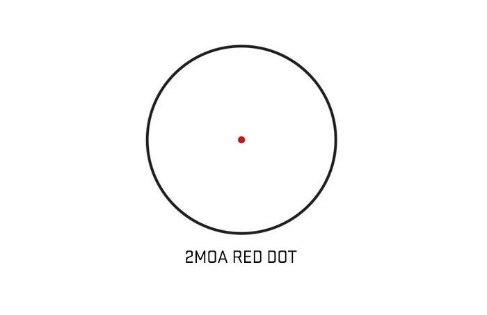 Sig Sauer Romeo5 1x20mm Red Dot Sight Reticle